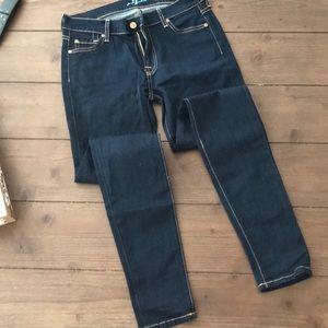 7 For All Mankind Dark Denim Jeans